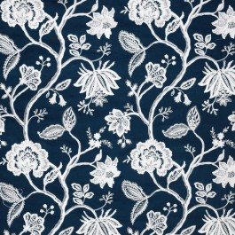 Hampton Court Navy RM Coco Fabric