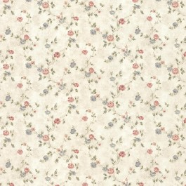 992-44418 Alex Beige Delicate Satin Floral Trail Wallpaper