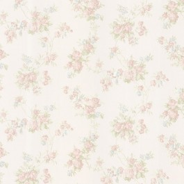 992-68325 Tiffany Pastel Satin Floral Trail Wallpaper