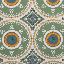 A0487 PANNA GREEN RM Coco Fabric | The Fabric Co