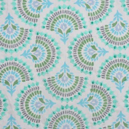 A0489 PEACOCK RM Coco Fabric | The Fabric Co