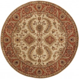 A160-8RD Surya Rug Ancient Treasures Collection