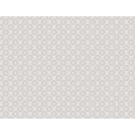 AF6525 Grey Fretwork Wallpaper | The Fabric Co