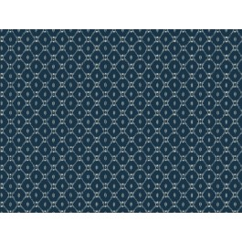 AF6528 Blue Fretwork Wallpaper   The Fabric Co