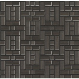 AF6605 Black Teahouse Panel Wallpaper | The Fabric Co