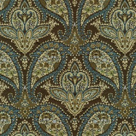 Antoinette 31 Empire Blue J. Ennis Fabric