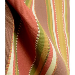 Apache Red Earth Roth Striped Southwest Fabric