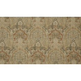 Bonafide Cocoa Brown Black Textured Damask Woven Upholstery Swavelle Mill Creek Fabric