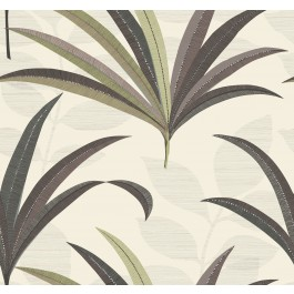 CA1550 Beiges El Morocco Palm Wallpaper | The Fabric Co