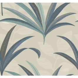 CA1552 Beiges El Morocco Palm Wallpaper | The Fabric Co