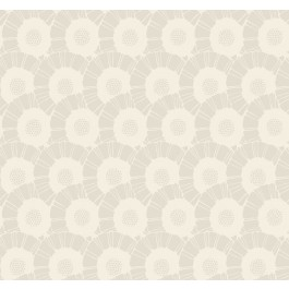 CA1556 White/Off Whites Coco Bloom Wallpaper | The Fabric Co