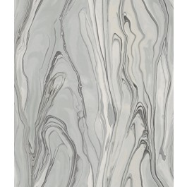 CL2575 Gray Liquid Marble Wallpaper | The Fabric Co