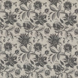 Coventry Floral Black by Kasmir Fabrics