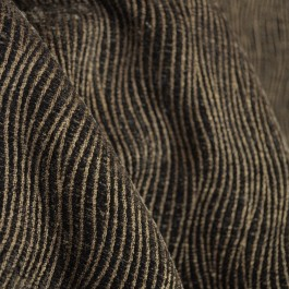 Current Chocolate Contemporary Chenille Fabric