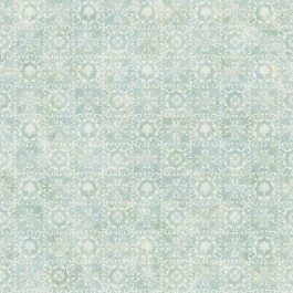 DLR54652 Shell Bay Teal Scallop Damask