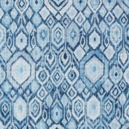 Blue Contemporary Diamond Ikat DP61705 171 Ocean Duralee Fabric