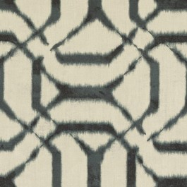 Light Grey Geometric Print DP61721 248 Silver Duralee Fabric