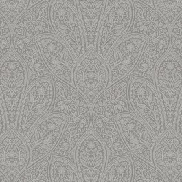FH37548 Distressed Paisley Wallpaper