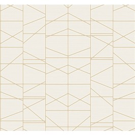 GM7543 Gold Modern Perspective Wallpaper   The Fabric Co