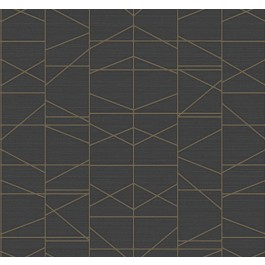 GM7547 Gold Modern Perspective Wallpaper   The Fabric Co