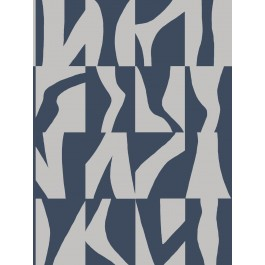 GM7581 Navy Sketchbook Wallpaper   The Fabric Co