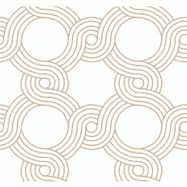 GM7593 Gold The Twist Wallpaper | The Fabric Co