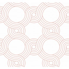 GM7595 Pink The Twist Wallpaper | The Fabric Co