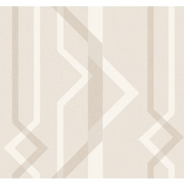 GM7599 Ivory Shape Shifter Wallpaper   The Fabric Co