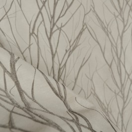 Grove Shadow Embroidered Tree Fabric