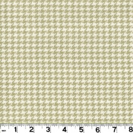 Houndstooth D2919 Sand Roth & Tompkin Fabric