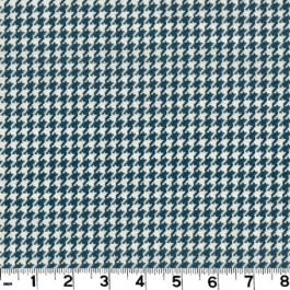 Houndstooth D2922 Navy Roth & Tompkin Fabric