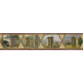 HTM48552B Francis Wheat Privy Collection Border