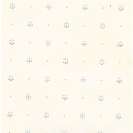 HTM49474 Polka Cream Pinecone Ditzy Toss Wallpaper