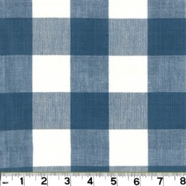 Lyme DL01 FrenchBlue Roth & Tompkin Fabric