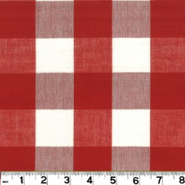 Lyme DL03 Berry-White Roth & Tompkin Fabric