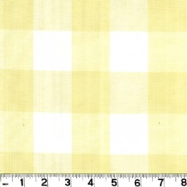 Lyme DL79 Pale Yellow Roth & Tompkin Fabric