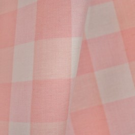 Lyme Pale Pink DL84 Check Fabric
