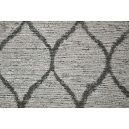 Modern Movement Pearl Light Grey Heavy Chenille Trellis Upholstery Latex Backed Swavelle Mill Creek Fabric