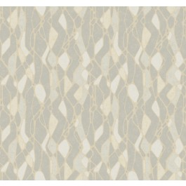NA0510 Grey Stained Glass Wallpaper   The Fabric Co