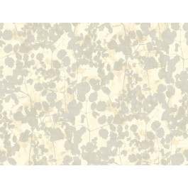 NA0519 Beige Pressed Leaves Wallpaper | The Fabric Co