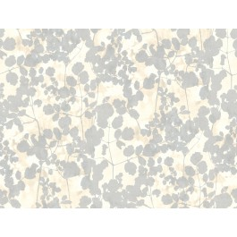 NA0520 Cream Pressed Leaves Wallpaper | The Fabric Co