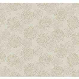 NA0579 Taupe Grandeur Wallpaper | The Fabric Co