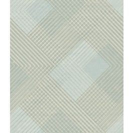 NR1535 Blues Scandia Plaid Wallpaper  | The Fabric Co
