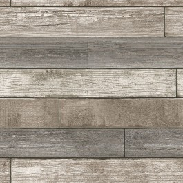 NU1690 Reclaimed Wood Plank Natural Peel and Stick Wallpaper