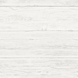 NU2187 Shiplap Off-White Wood Peel and Stick Wallpaper