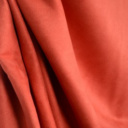 Picadilly Red 003 Red Faux Suede Polyester Fabric