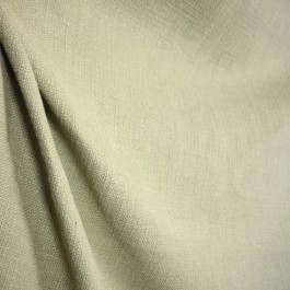 Grey linen and cotton fabric Protege Stonebrook