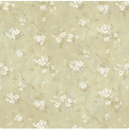Braham Green Country Floral Scroll Wallpaper