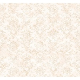 Evie Pink Country Stencil Damask Wallpaper
