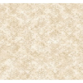 Evie Taupe Country Stencil Damask Wallpaper